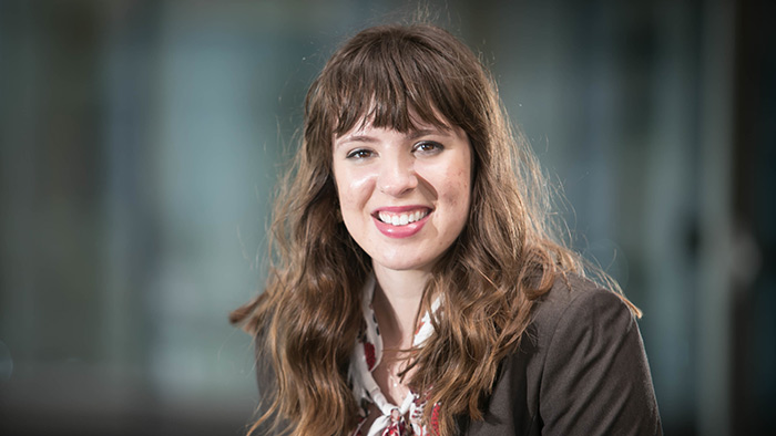 MSU student Erin Eckels