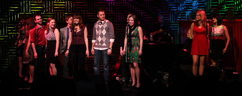 Musical theatre and jazz studies students take to the New York stage during the Connection and Cabaret March 10.
