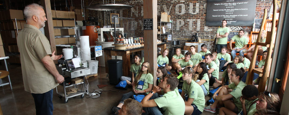 High schoolers learn about civic engagement from community leaders during the Missouri Public Affairs Academy July 19-26.