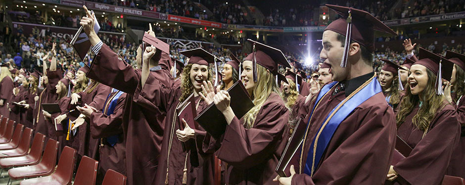 Congratulations to the Missouri State Class of 2014! Best wishes for bright futures and career successes!