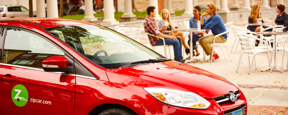 Having a car on campus just got easier with the new Zipcar car sharing program, launching this fall.