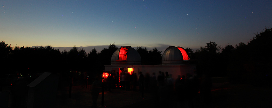 Observe planets, star clusters, galaxies and more during the NASA Public Observing Night Sept. 26 at Baker Observatory.