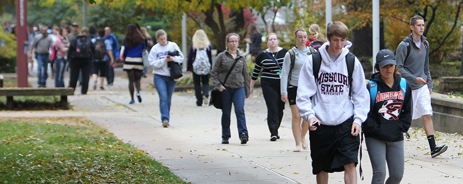 Explore the Missouri State campus and all the University has to offer during Fall Visit Day Oct. 24.