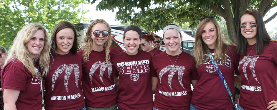 #FindYourPlace in one of more than 300 student organizations on the Missouri State University campus.