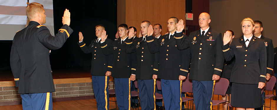 The MSU Bear Battalion will commission a new group of U.S. Army officers during the Gold Bar Commissioning Dec. 13.