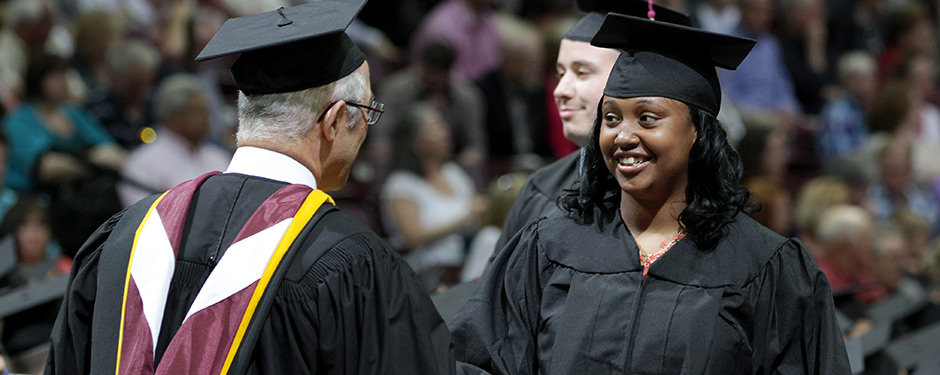 The commencement ceremonies Dec. 13 will recognized 1,379 graduates for their achievements.