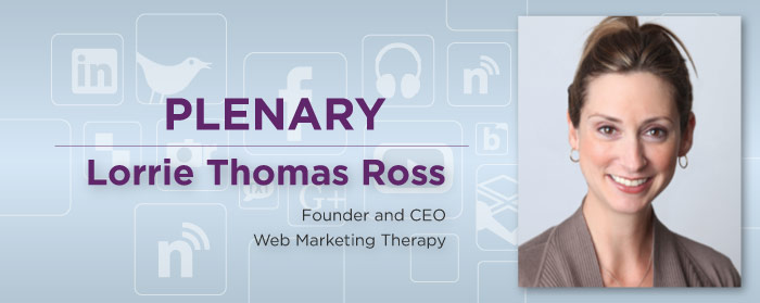 Lorrie Thomas Ross, Founder and CEO, Web Marketing Therapy
