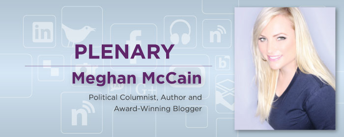 Meghan McCain, Political Columnist, Author and Award-Winning Blogger