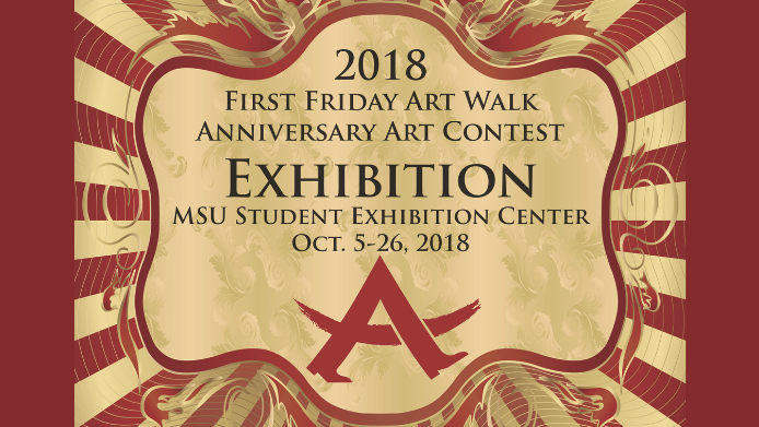 First Friday Art Walk Anniversary Art Contest Exhibition