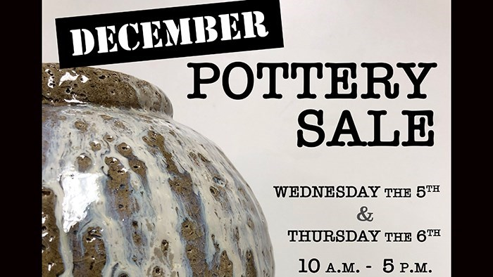 Pottery Sale presented by Clayworks Student Organization