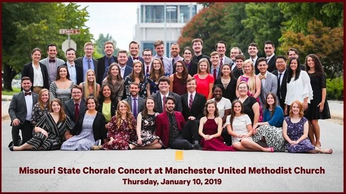 MSU Chorale Concert at United Methodist Church
