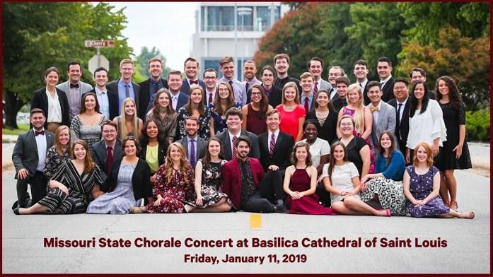 St Louis Calendar Of Events 2019 MSU Chorale Concert at Basilica of Saint Louis   Calendar of