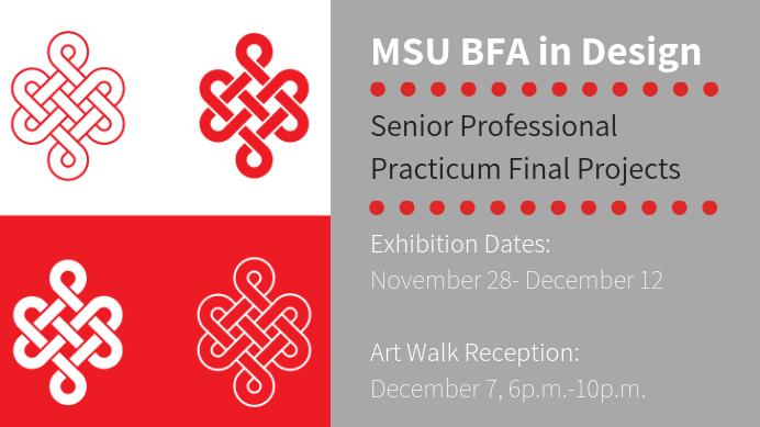 BFA Design Practicum Exhibition