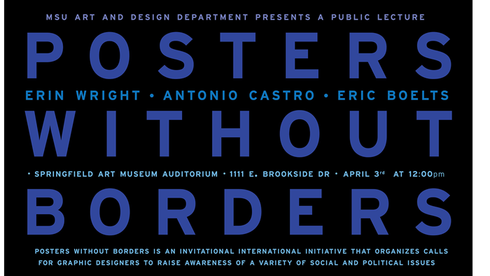 Public Artist Talk - Zora Murff and Posters Without Borders