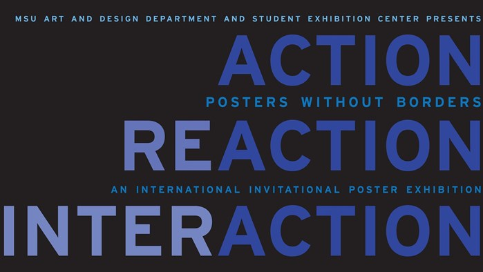 Action/Reaction/Interaction - Poster Exhibition by Posters Without Borders