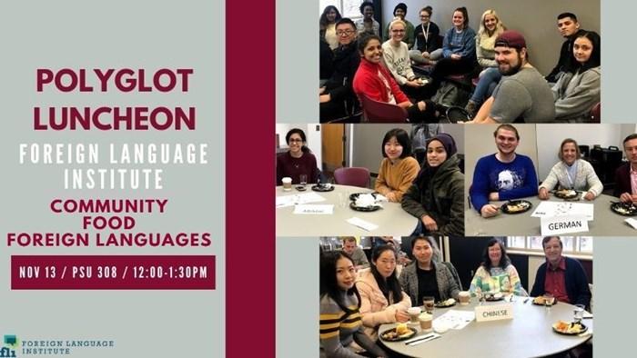 Polyglot Luncheon
