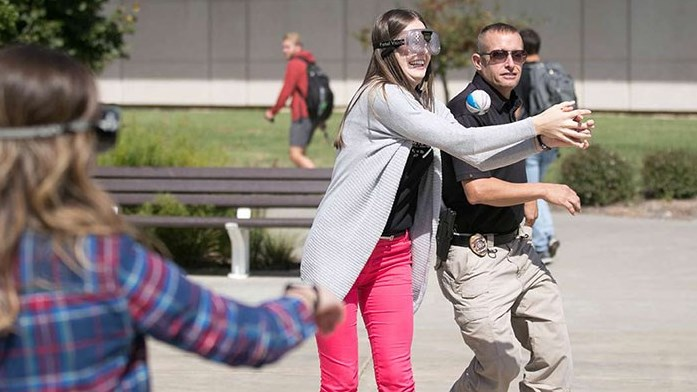 Cops on Campus: Do Fun Stuff and Talk to the Pros