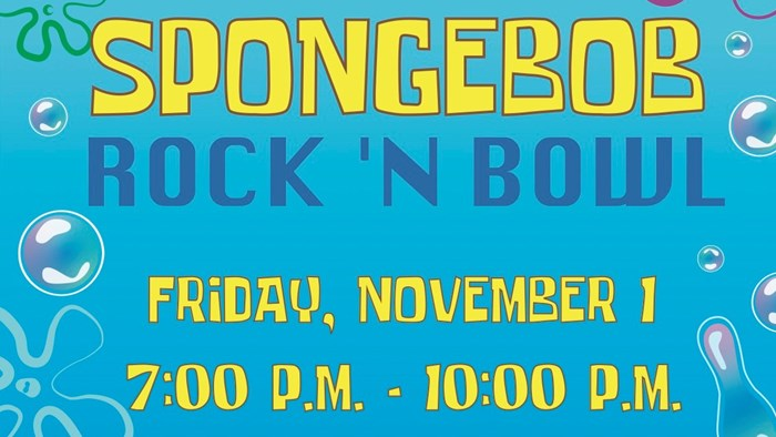 SAC Presents: Spongebob Rock 'N Bowl