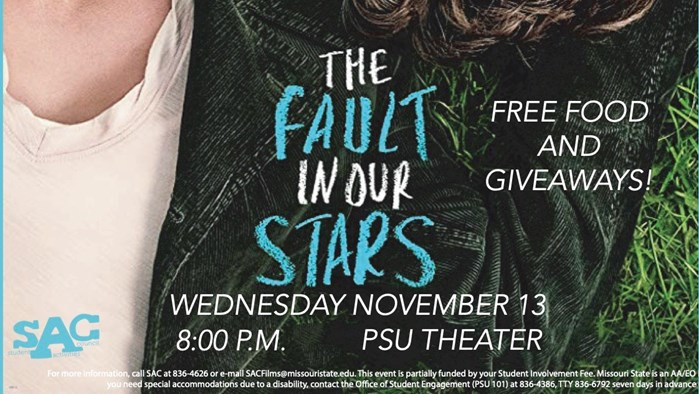 SAC Fall Film Series: The Fault in Our Stars