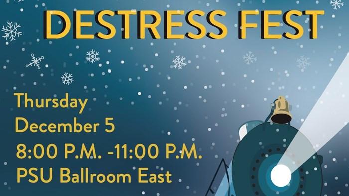 SAC Presents: Destress Fest