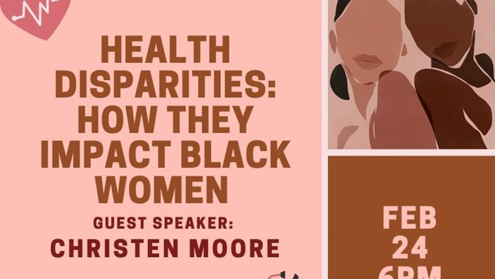 Sister Circle, Psychology Club and Generation Action Presents - Health Disparities: How They Impact Black Women