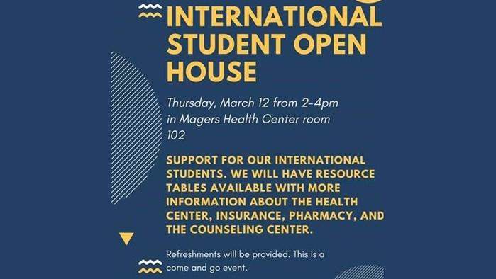 International Student Open House