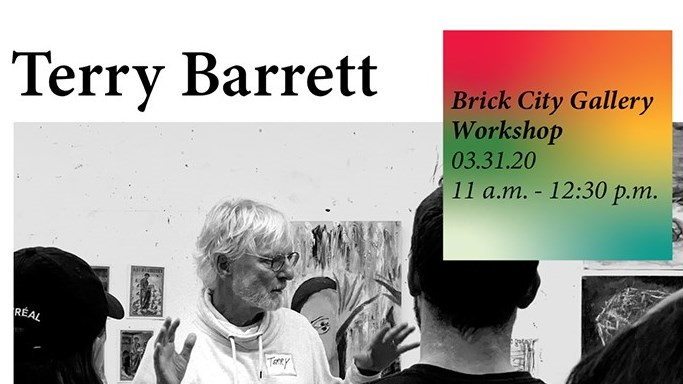 CANCELED - Terry Barrett Workshop