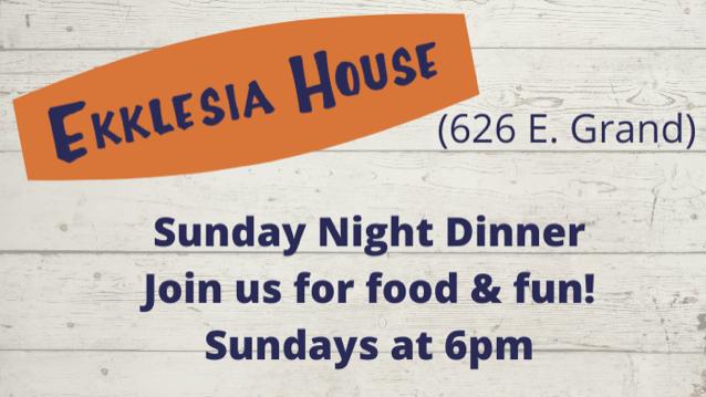 Ekklesia Sunday Night Food and Fun