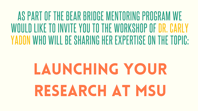 Launching Your Research at MSU