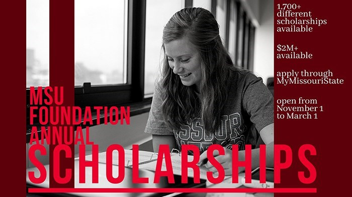 MSU Foundation Scholarship Application Now Available