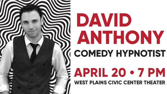 David Anthony, Hypnotist