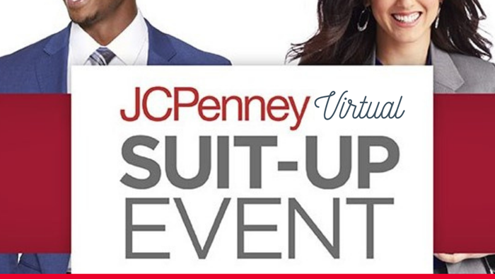 JCPenney Virtual Suit-Up Event