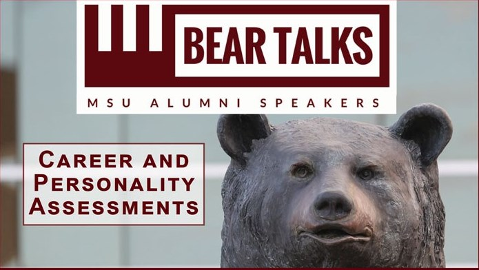 BearTalks Webinar: Career and Personality Assessments