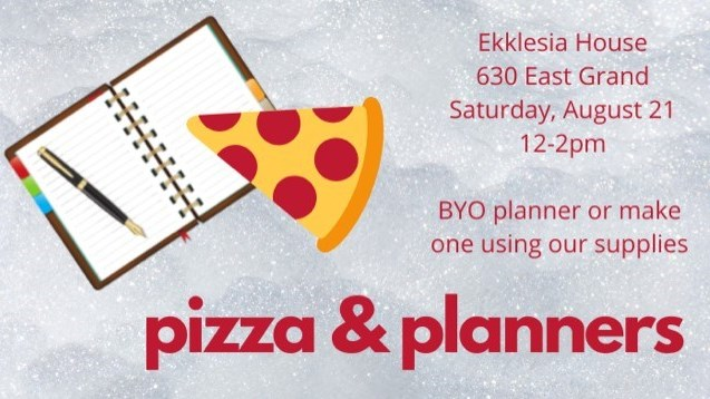 Pizza and Planners