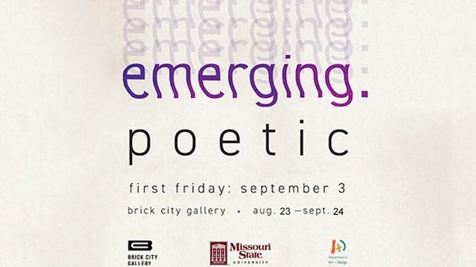 emerging.poetic Exhibition