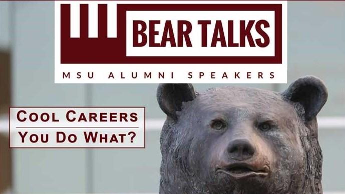 BearTalks Webinar - Cool Careers: You Do What?