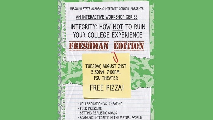 Integrity: How NOT to Ruin Your College Experience - Freshman Edition