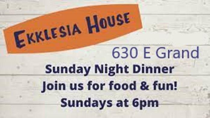 Ekklesia Sunday Night Dinner