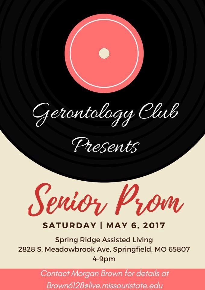 Gerontology Club Presents: Senior Prom