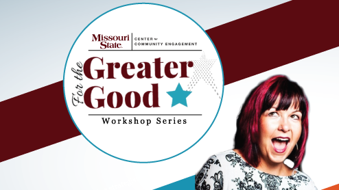 For the Greater Good: Meet and Greet/Workshop Series with Dr. Michelle Mazur