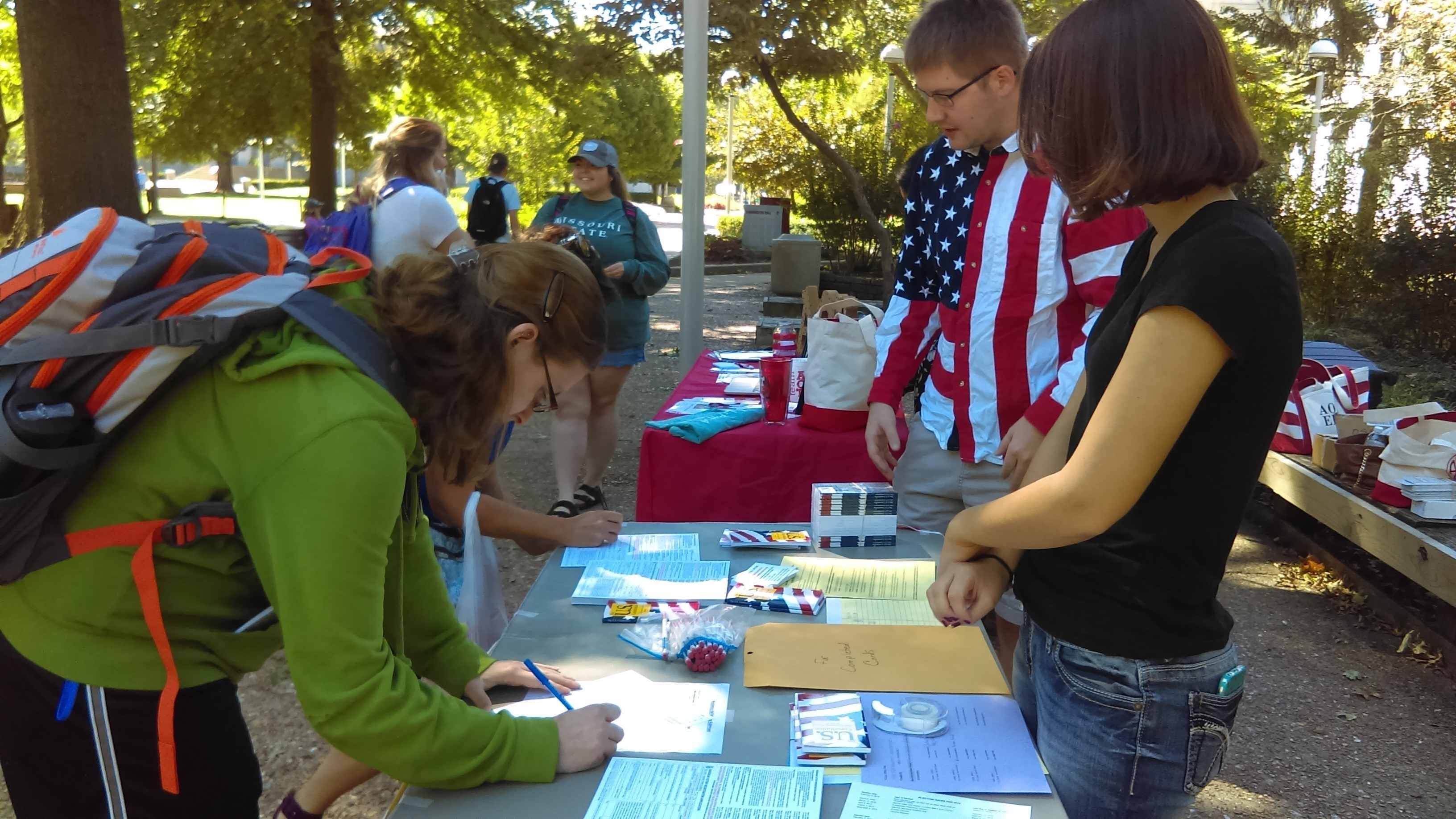 PAW Event - Voter Registration