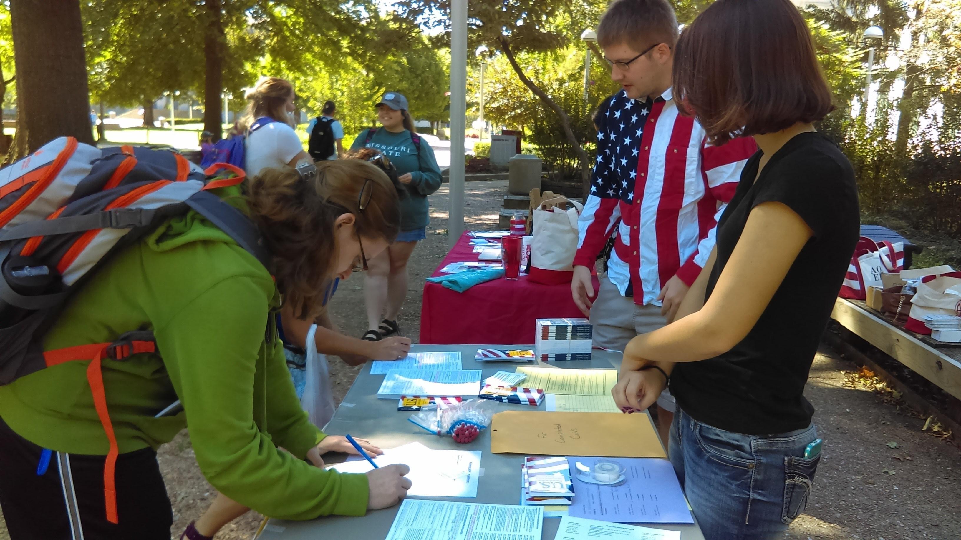PAW Event - Voter Registration