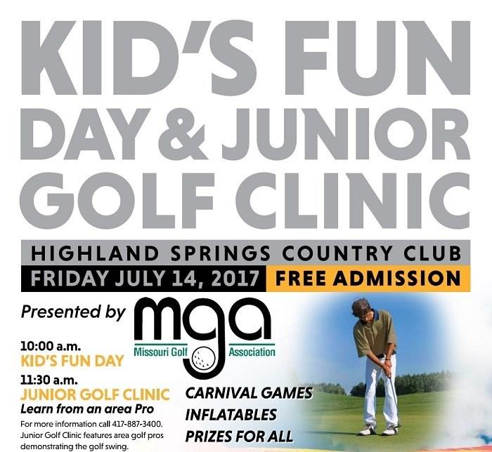 Kids Fun Day & Junior Golf Clinic presented by Missouri Golf Association