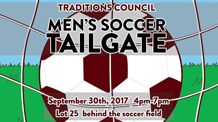 Traditions Council Presents: Men's Soccer Tailgate