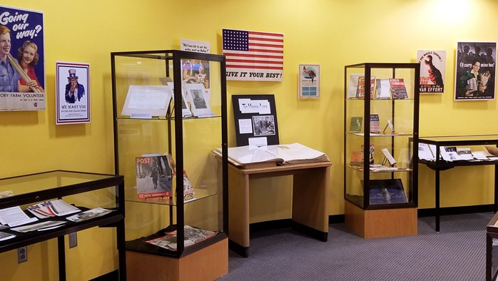 An Exhibit of Military Collections