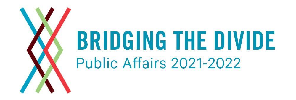 Bridging The Divide - 2021 Public Affairs Conference logo