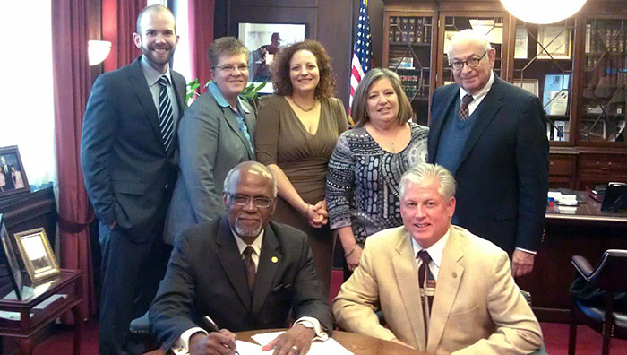 Non-discrimination ordinance signing for St. Louis County