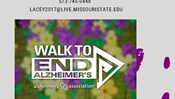 Gerontology Club - The Walk to End Alzheimer's