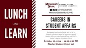 Careers in Student Affairs Lunch and Learn