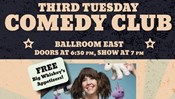 SAC Third Tuesday Comedy Club: Andy Erikson